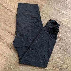 Old Navy Leggings | Gray | Large | Ankle Detail